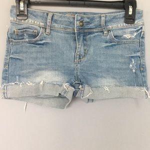 dELiA*s Light wash jean shorts